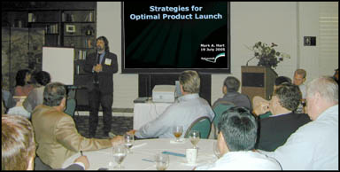 Strategies for Optimal Product Launch presentation, 19 July 2005